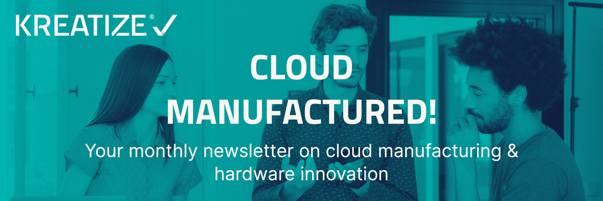 Cloud Manufactured Banner
